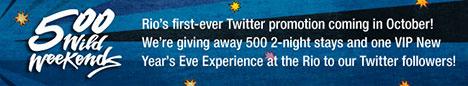 rio las vegas twitter giveaway